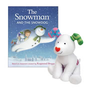 The Snowman & Snowdog Book & Plush Dog Set