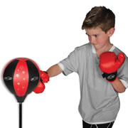 National Sporting Goods Jr. Boxing Set - Red/Black
