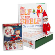 Elf on the Shelf® (Boy - Light) with Elf on the Shelf® An Elf's Story DVD