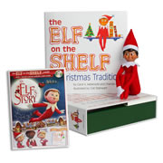 Elf on the Shelf® (Boy - Dark) with Elf on the Shelf® An Elf's Story DVD