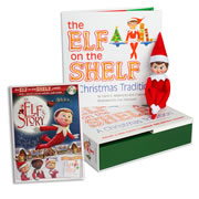 Elf on the Shelf® (Girl - Light) with Elf on the Shelf® An Elf's Story DVD