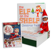 Elf on the Shelf® (Girl - Dark) with Elf on the Shelf® An Elf's Story DVD