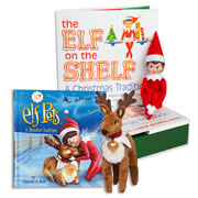 Elf on the Shelf® (Girl - Light) with Elf Pets Plush Reindeer