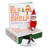 Elf on the Shelf® (Girl - Light) & Claus Couture Collection Satin Skirt