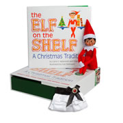 Elf on the Shelf® (Girl - Dark) & Claus Couture Collection Satin Skirt