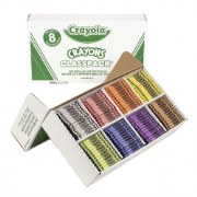 Crayola® Class Pack Crayons - Large Cargo (400 crayons, 50 ea. color)