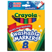 Classic Colors Washable Markers