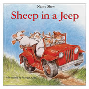 Sheep in a Jeep - Board Book
