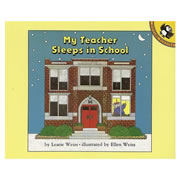 My Teacher Sleeps in School - Paperback