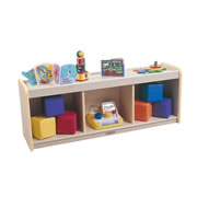 K System® Pull Up Storage - Natural w/Natural Trim