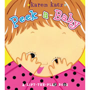Peek A Baby - Board Book