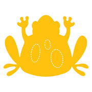 Large Frog #2 Die Cut