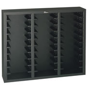 Die Cut Storage Rack Black