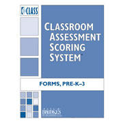 CLASS™ Forms Pre-K and K-3 (Packs of 10)
