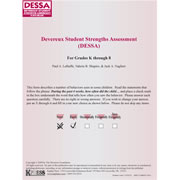 DESSA Record Forms (Set of 25)
