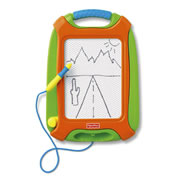 Doodle Pro Tag Along - Orange & Green