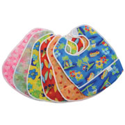 Flip Pocket Bibs With Velcro® Closure (Set of 6)