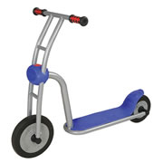 Super Silver Scooter