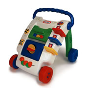 Wide Tracker Activity Walker by Little Tikes