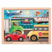 On the Go 12 Piece Wooden Jigsaw Puzzle