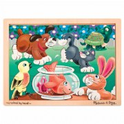 Playful Pets 12 Piece Jigsaw Puzzle
