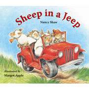 Sheep in a Jeep - Lap Board Book