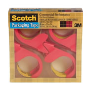 Packaging Tape Dispenser (4 Rolls per Pack)