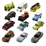 36 Pack Assorted Matchbox Cars