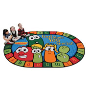 VeggieTales God Made You Special Rug