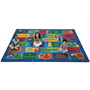 Veggie Values Seating Rug