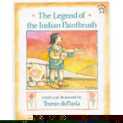 The Legend of The Indian Paintbrush (Paperback)