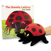The Grouchy Ladybug Book & Puppet Set
