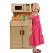 Carolina Kitchen Cupboard with Microwave