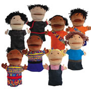 Multicultural Puppet Set