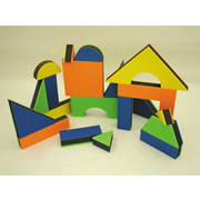 "Textured Jumbo 2 1/2"" thick Block Set II (32 pcs.)"