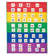 Rainbow Pocket Chart