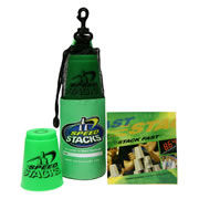 Speed Stacks Set with DVD - Neon Green