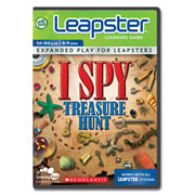 Leapster2 Learning Game Scholastic ISPY Treasure Hunt