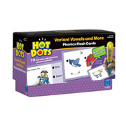 Hot Dots® Phonics Variant Vowels Set 6