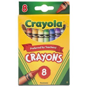 Crayola® 8-Pack Crayons - Standard (Single Box)