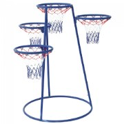 4 Ring Basketball Stand With Storage Bag