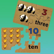 Picture Number Word Puzzles