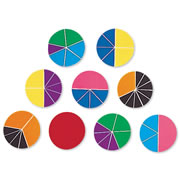 Deluxe Rainbow Fraction® Circles