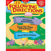 Following Directions Grades 3-4