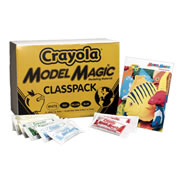 Crayola® Model Magic Primary Colors Classpack (75 - 1 oz. packs)