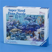 Sea Life Floor Puzzle 24 piece puzzle
