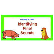 Identifying Final Sounds (24 cards)