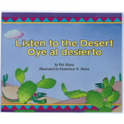 Listen To The Desert - Paperback