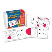 Fraction Quiz Cards