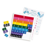 Rainbow Fraction® Decimal, Percent and Fraction Tiles